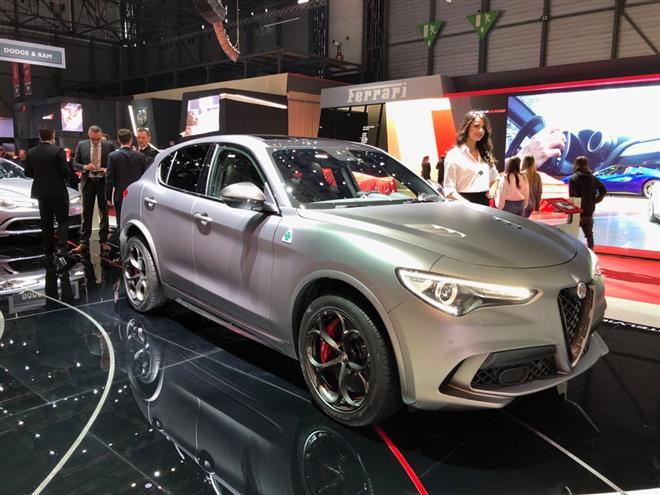 Alfa Romeo Stelvio Quadrifoglio NRing foto live Ginevra 2018