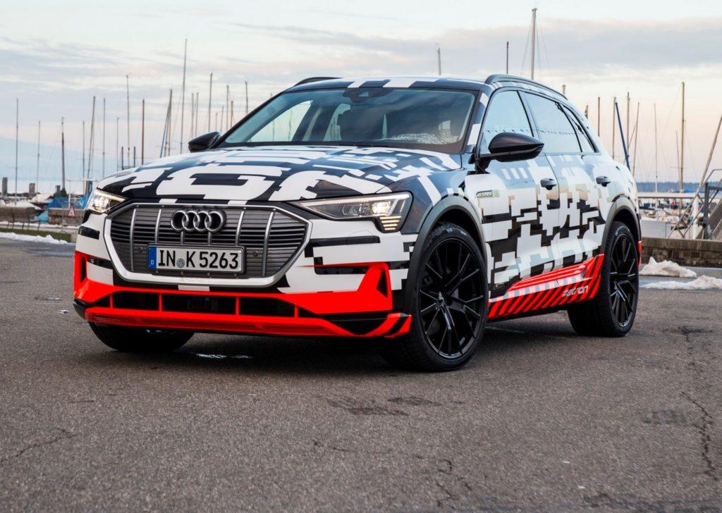 Audi e-tron, fissato il prezzo per la Germania: 80.000 euro