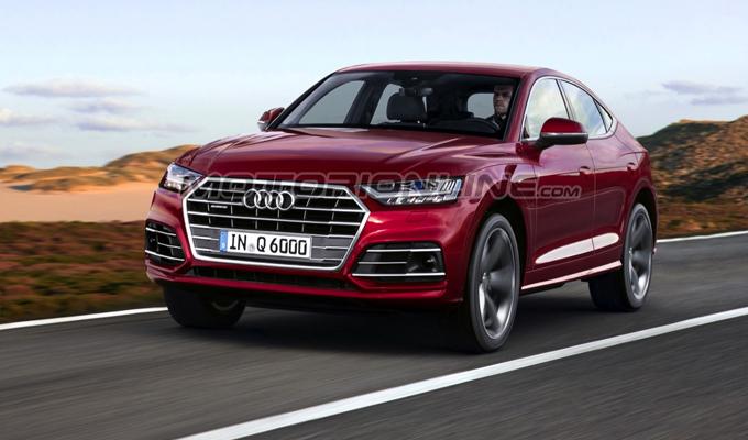 Audi Q6: l'immaginato nuovo SUV del concetto e-tron [RENDERING]