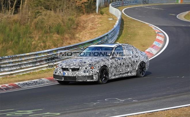 BMW M3 foto spia 28-3-2018