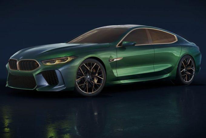 BMW M8 Gran Coupé: il concept manifesto di lusso dell'Elica [VIDEO]