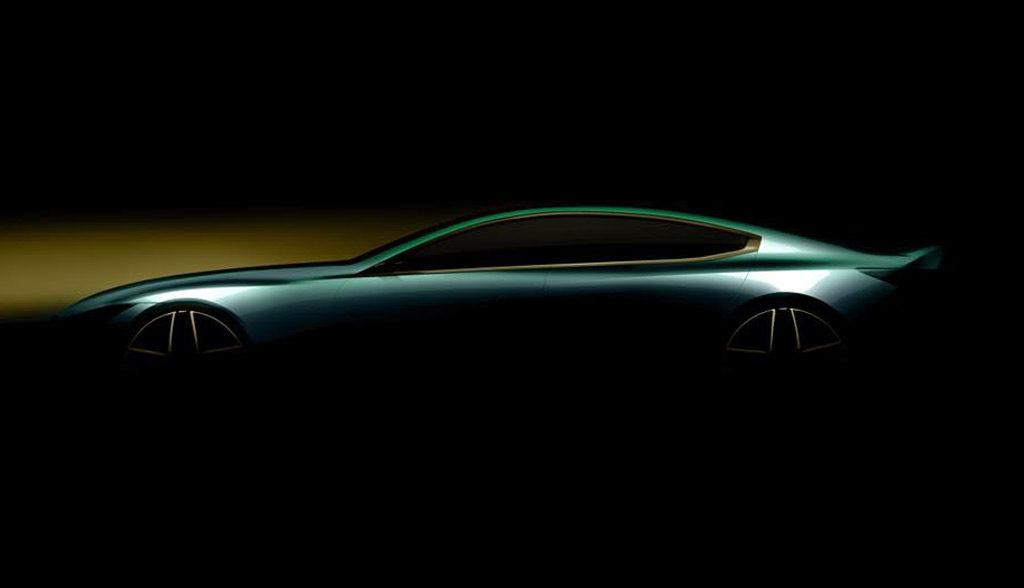 BMW Serie 8: una concept quattro porte per il Salone di Ginevra [TEASER]