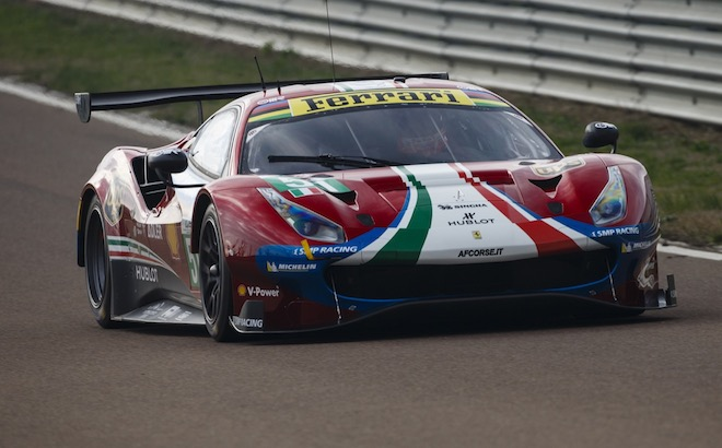 Ferrari 488 GTE 2018
