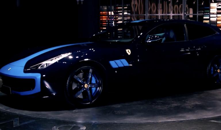 Garage Italia Custom presenta la Ferrari GTC4 Azzurra [VIDEO]
