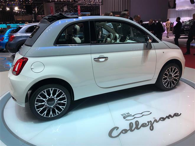 Fiat 500 Collezione - Salone di Ginevra 2018