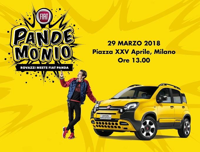 Fiat Panda City Cross e Fabio Rovazzi tingeranno di giallo Milano il 29 marzo