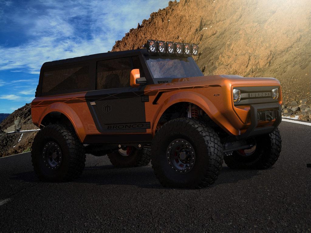Ford Bronco: ecco come potrebbe essere il nuovo SUV ...