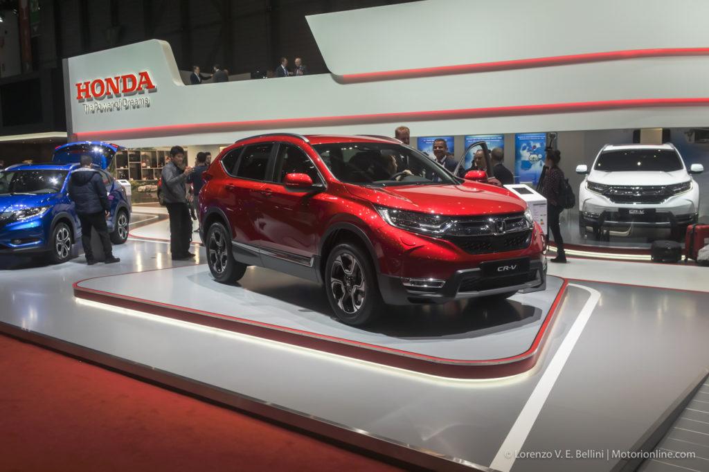 Honda a Ginevra 2018 tra presente e futuro con nuova CR-V e tre concept elettrici [INTERVISTA]