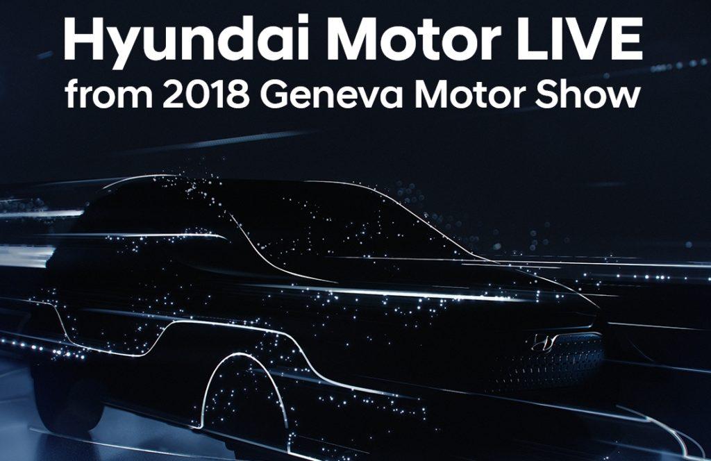 Hyundai: tutte le novità in diretta da Ginevra 2018 [LIVE STREAMING]