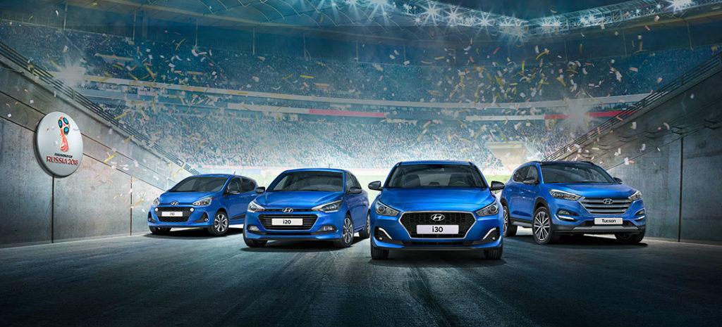 Hyundai Go!: le edizioni limitate celebrano i Mondiali di calcio 2018