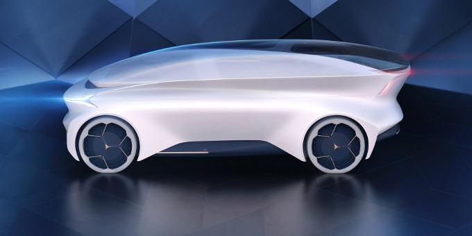 Icona Nucleus, il prototipo completamente autonomo