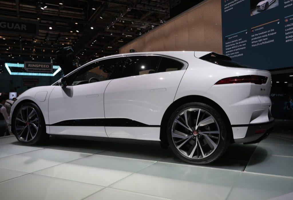 Jaguar I-Pace - Salone di Ginevra 2018