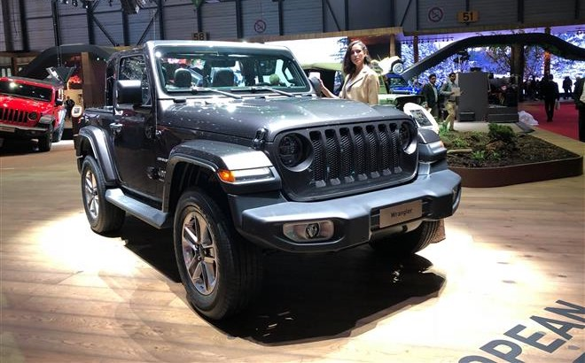 Jeep Wrangler - Salone di Ginevra 2018