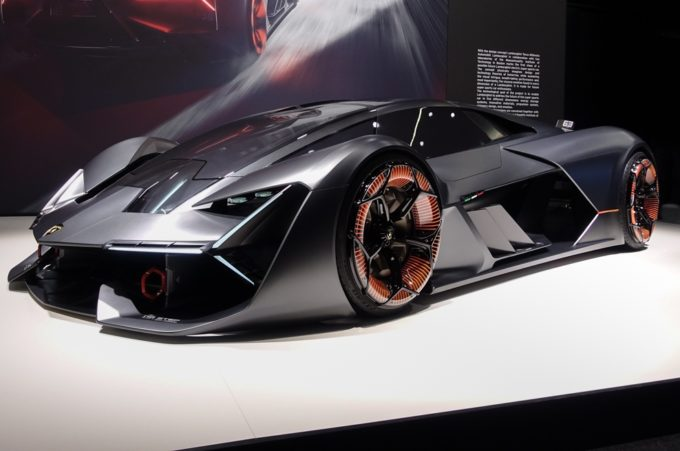 Lamborghini Terzo Millennio Concept Estremo Al Salone Di Ginevra 2018 Foto