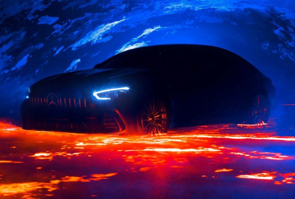 Mercedes-AMG GT4: nuovi TEASER a ridosso dell'anteprima al Salone di Ginevra
