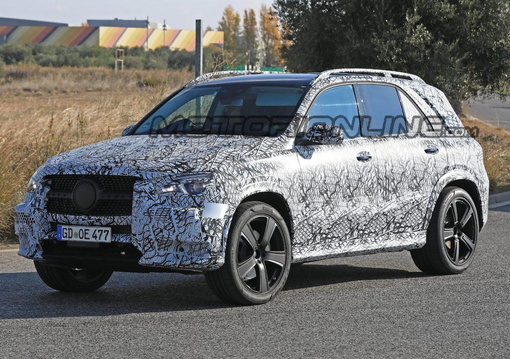 Mercedes GLE, il nuovo modello filmato in Scandinavia [VIDEO SPIA]