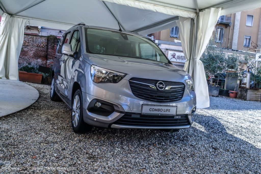 Opel Combo Life MY 2018 - Anteprima