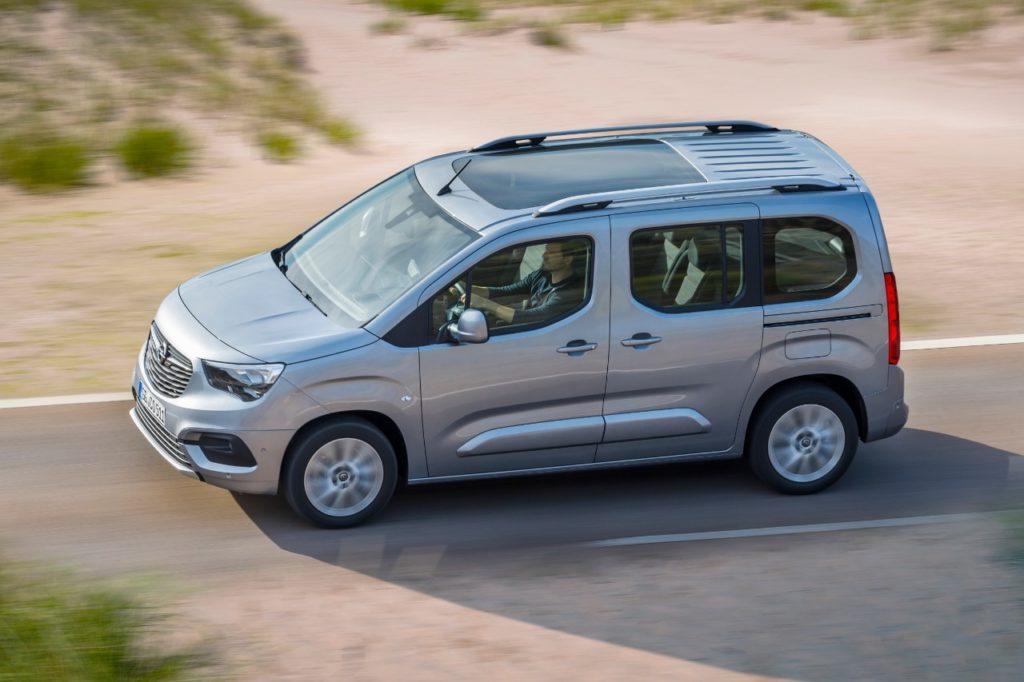 Opel Combo Life: annunciate le motorizzazioni per il mercato italiano