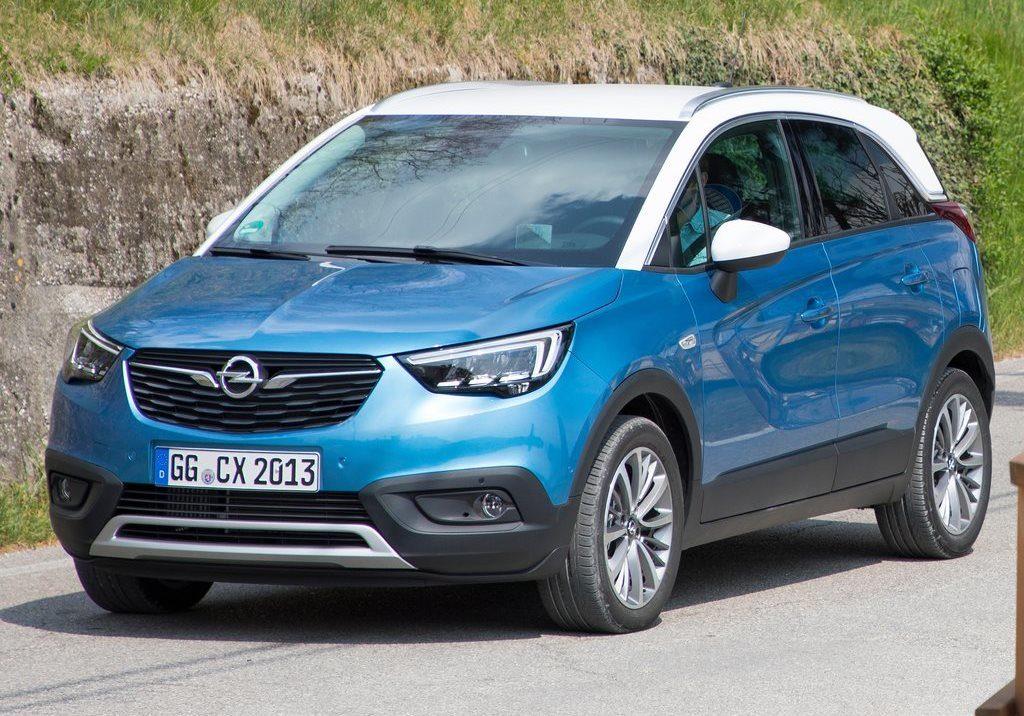 Opel Crossland X taglia il traguardo dei 100.000 ordini in Europa
