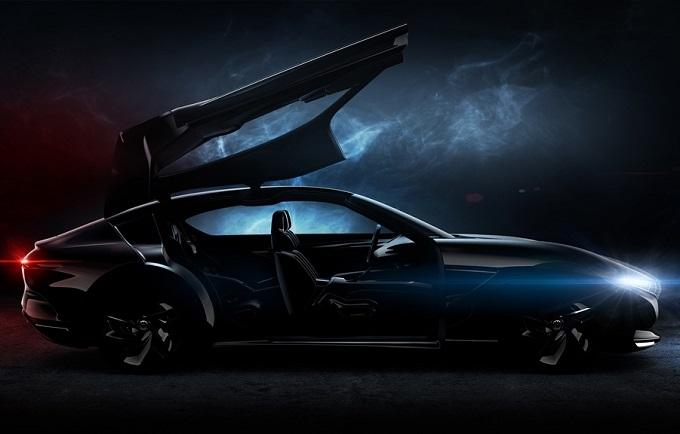 Pininfarina HK GT: svelata la silhouette del nuovo concept che debutta a Ginevra [TEASER]