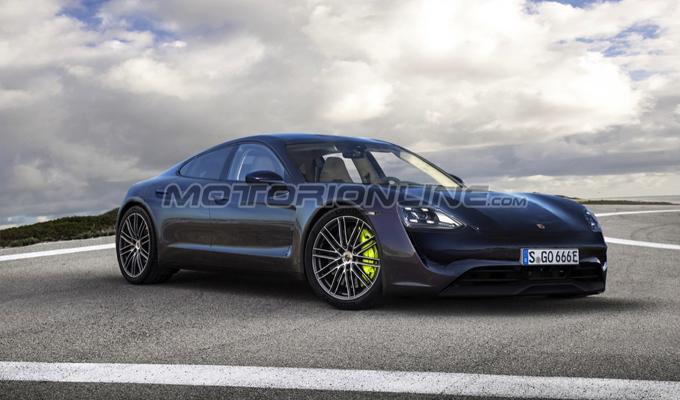Porsche Mission E: che aspetto potrebbe avere l'elettrica tedesca [RENDERING]
