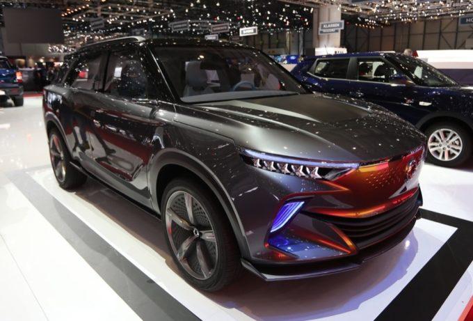 SsangYong e-SIV Concept: a Ginevra si guarda al SUV elettrico che verrà [FOTO LIVE]