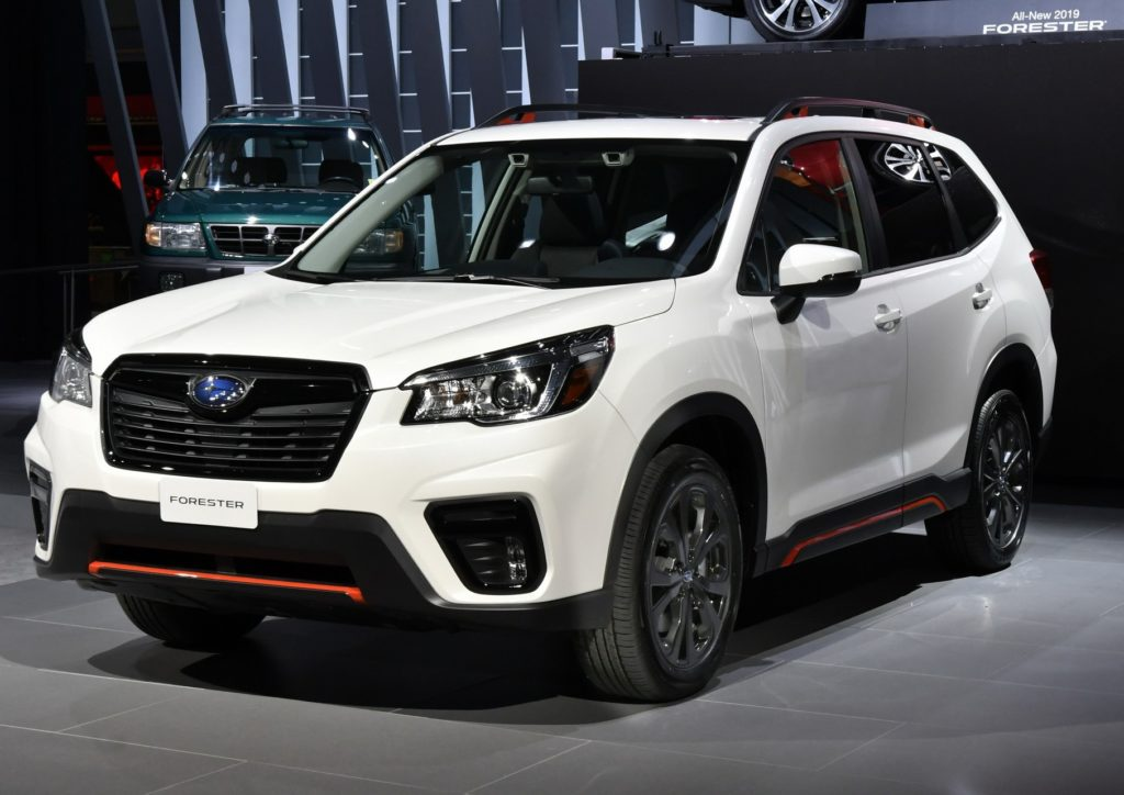 Subaru Forester MY 2019: l'alba della quinta generazione ...