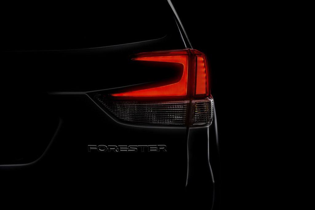 Subaru Forester: la nuova generazione debutterà al Salone di New York 2018 [TEASER]