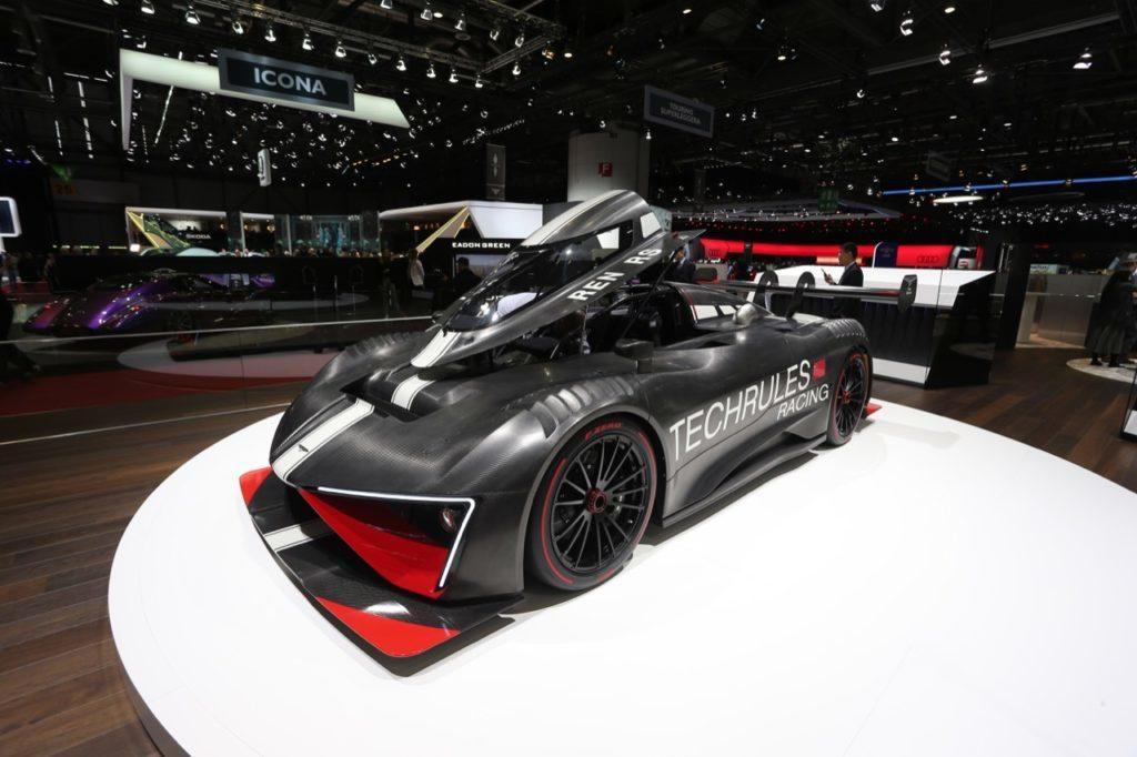 Techrules Ren RS: la sportiva rivoluzionaria fa un pit stop al Salone di Ginevra 2018 [FOTO LIVE]