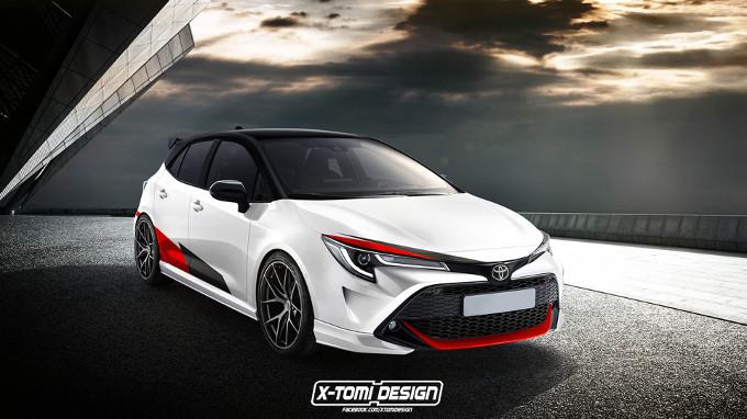 Toyota Auris GRMN, potrebbe essere un'ottima Hot Hatch [RENDERING]