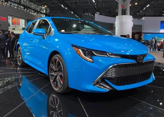 Toyota Corolla MY 2019 - Salone di New York 2018