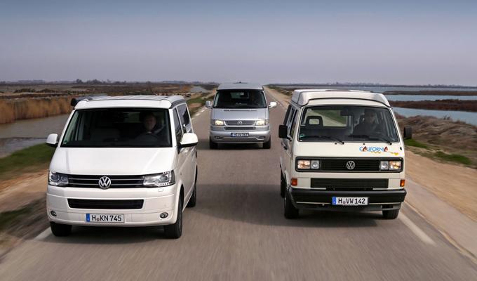 Volkswagen California: un ricordo trentennale in occasione di Techno-Classica a Essen [FOTO]