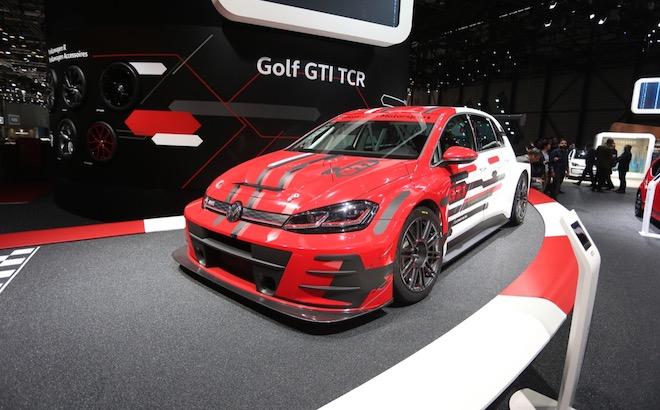 Volkswagen Golf TCR - Salone di Ginevra 2018