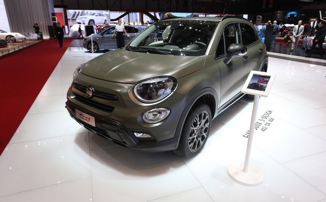 fiat 500x la versione s design al salone di ginevra 2018. Black Bedroom Furniture Sets. Home Design Ideas