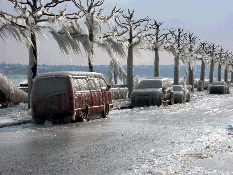 Gelicidio e non solo: tutti i modi in cui il gelo si manifesta in inverno