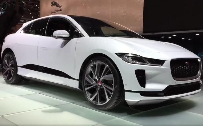 Jaguar i-Pace: debutto del crossover elettrico al Salone di Ginevra 2018 [VIDEO LIVE]