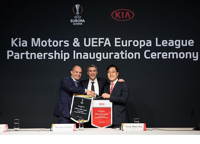 Kia partner ufficiale della Uefa Europa League