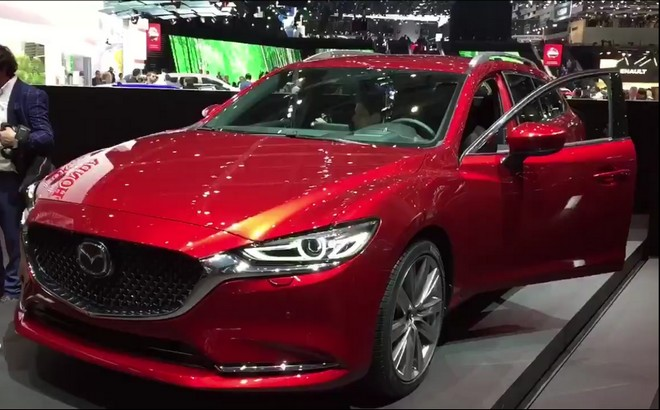 Mazda6 Wagon: la familiare al debutto al Salone di Ginevra 2018 [VIDEO LIVE]