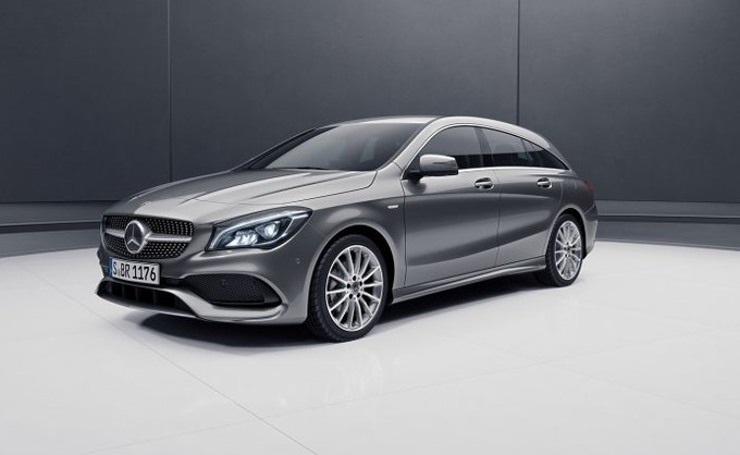 Mercedes-Benz CLA Shooting Night Edition in anteprima al Salone di Ginevra
