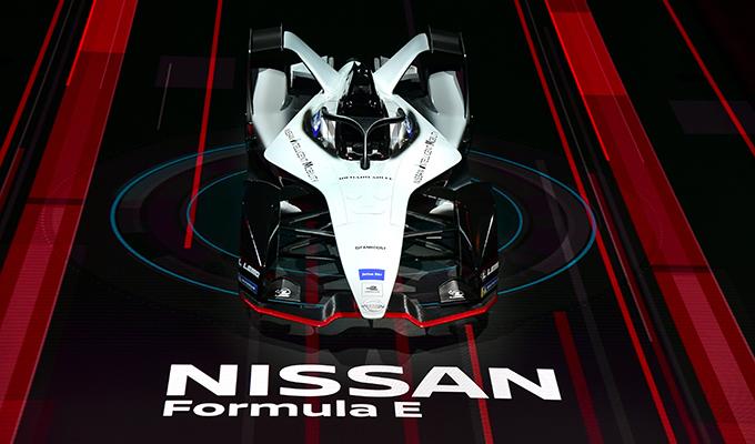 Nissan Formula E Livrea 2018 - Salone di Ginevra