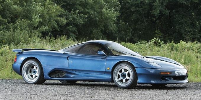 Jaguar XJR15 (1990): La Gruppo C Stradale