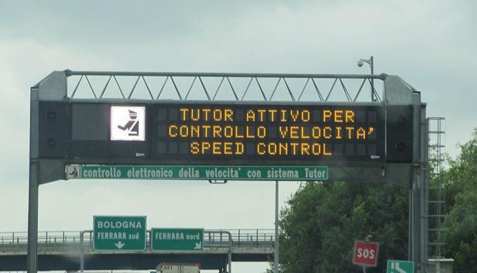 Autostrade: il Tutor sarà sempre attivo nonostante la sentenza della Corte d'Appello di Roma