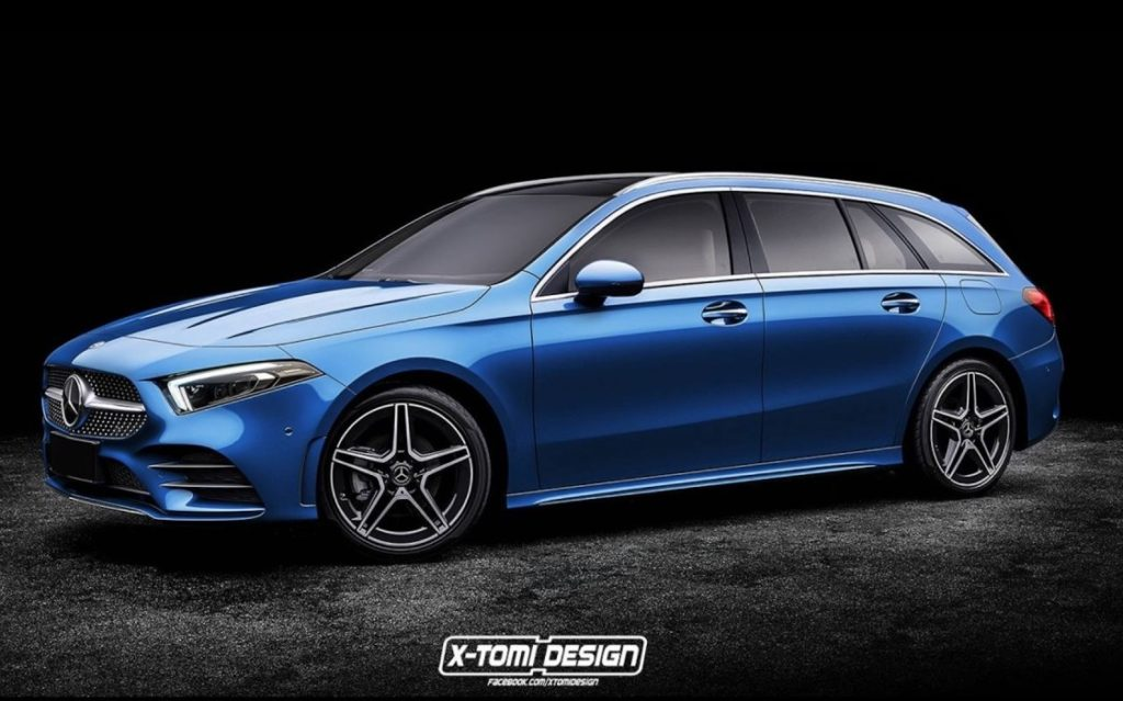 Mercedes: ipotesi Classe A Station Wagon? [RENDERING]