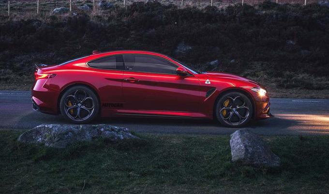 Alfa Romeo Giulia Coupé: potrebbe debuttare entro l'anno, 650 cavalli per la Quadrifoglio? [RENDERING]