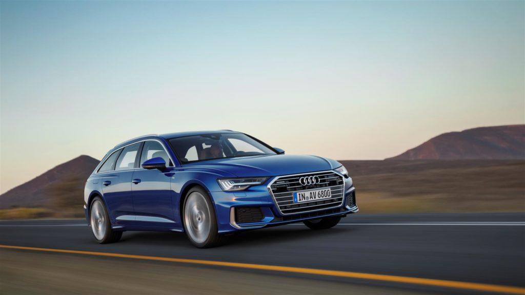 Nuova Audi A6 Avant: propulsori mild hybrid di serie per il massimo dell'efficienza