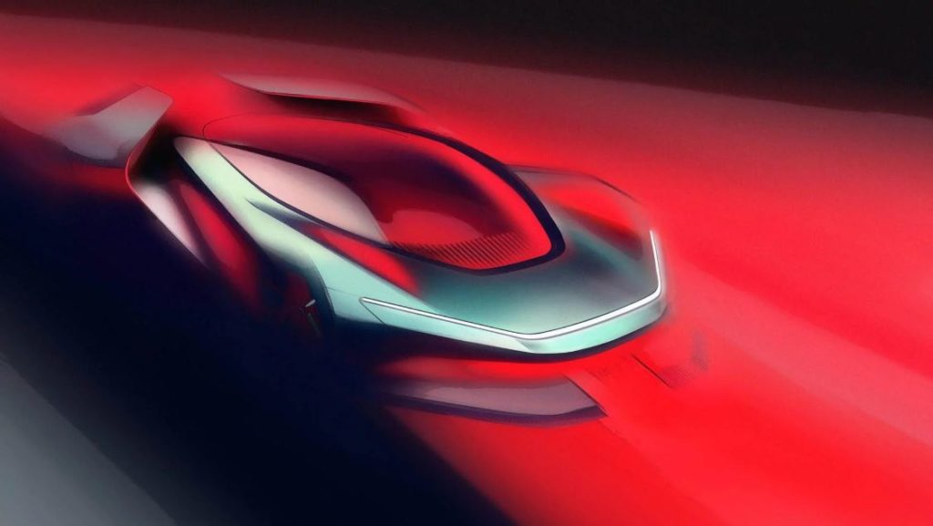 Automobili Pininfarina PF0 - Teaser