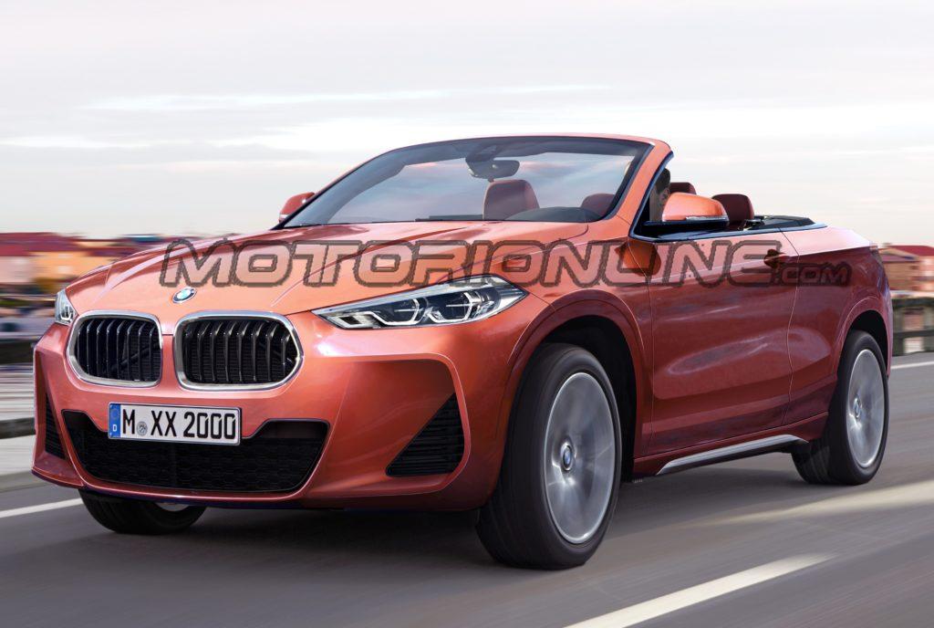 BMW X2 Cabrio: ipotesi stilistica di crossover per sentire il vento in faccia [RENDERING]