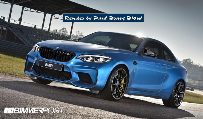BMW M2 Competition: l'immaginata versione che potrebbe avere poco più di 400 cavalli [RENDERING]