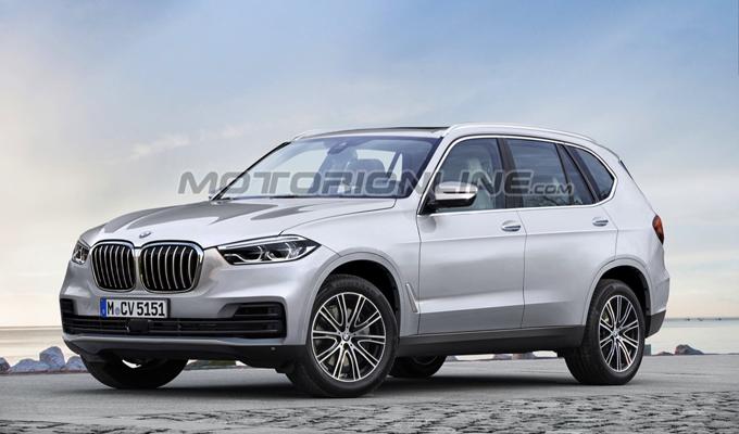 BMW X5 2019: una nuova occhiata alla fase di sviluppo [RENDERING E VIDEO SPIA]