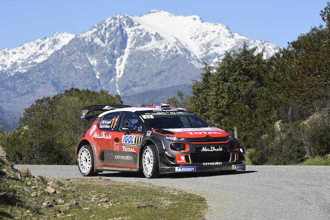 Citroen poco fortunata al Tour de Corse con le C3 WRC